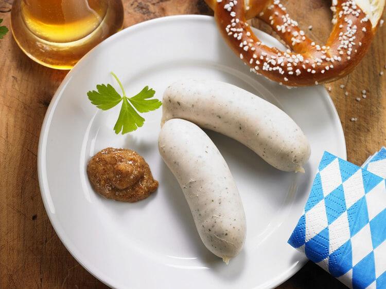 немецкие белые колбаски