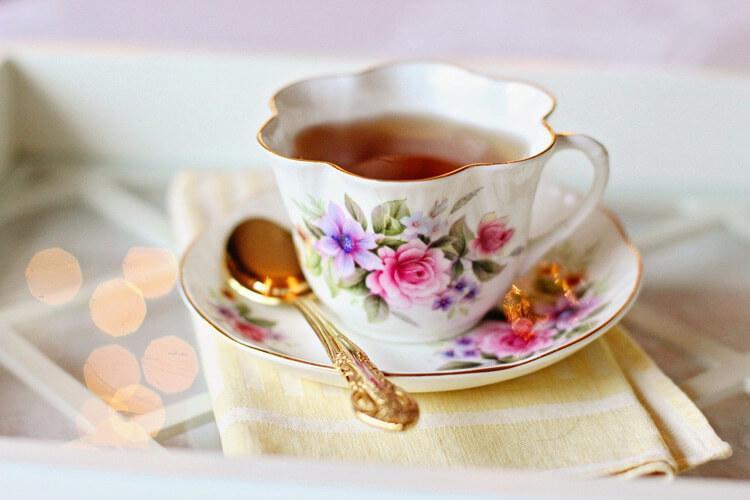 чашечка английского чая