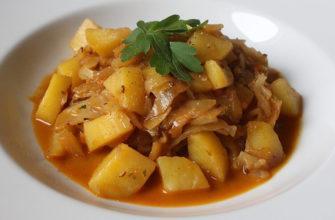 картофель и капуста в Германии