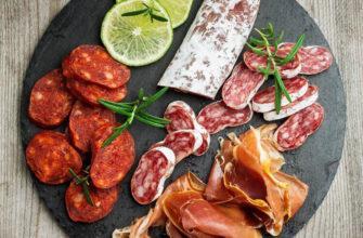 испанские колбасы