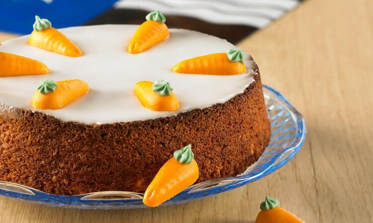 швейцарский морковный тортик