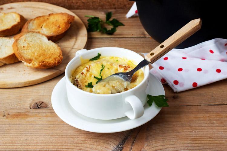 французский заправочный суп