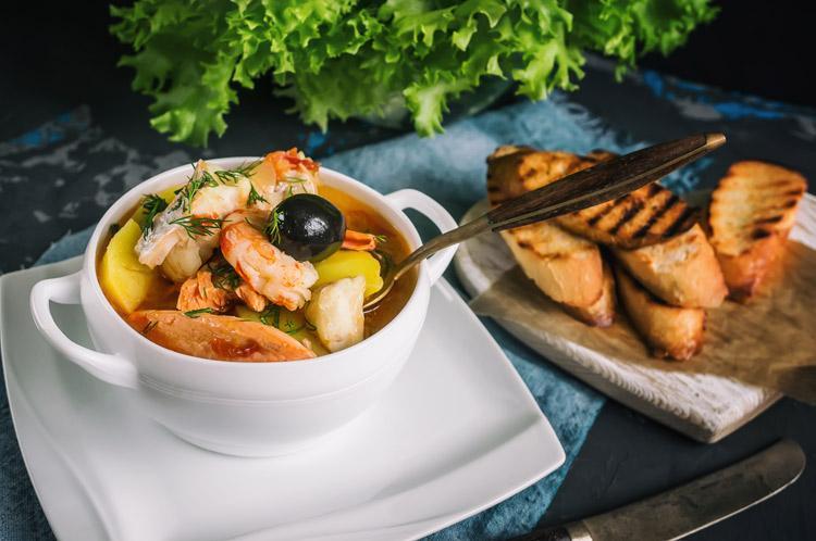 рыбный суп из Марселя