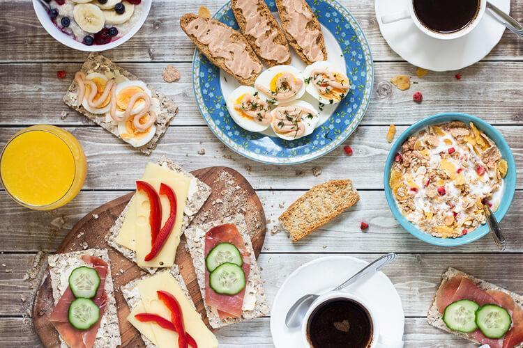 шведский завтрак