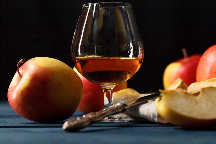 французская яблочная водка