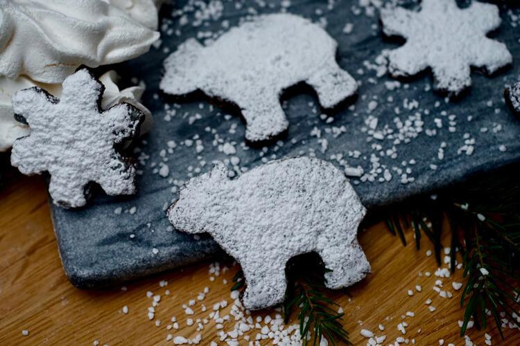 брунсли под сахарной пудрой