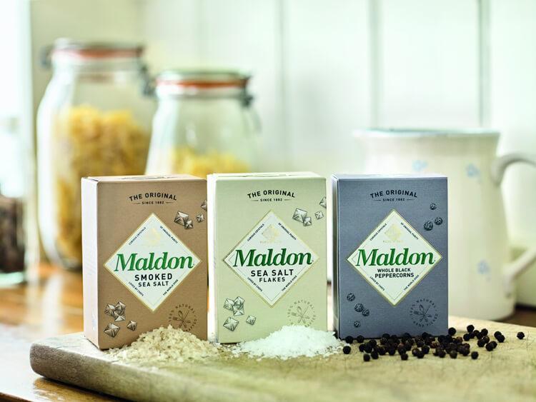 ассортимент соли марки maldon