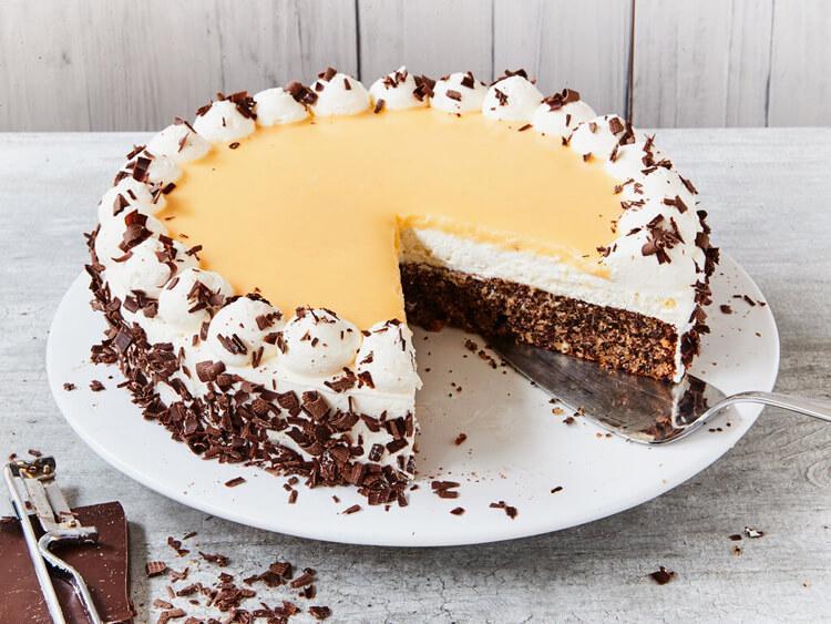 немецкий торт с гоголь-моголем