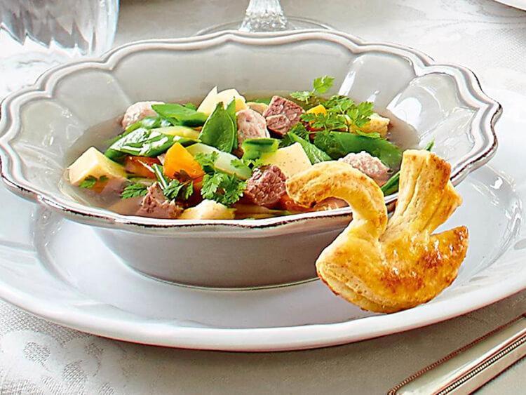 торжественный суп Вестфалия