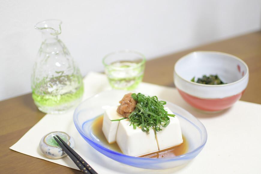 тофу с понзу